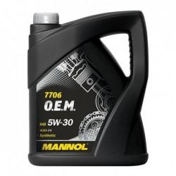 5L MANNOL 5w-30 O.E.M. for...