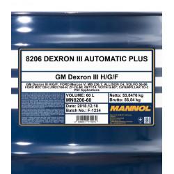 MANNOL Dexron III Automatic...
