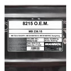 60L MANNOL O.E.M. 8215