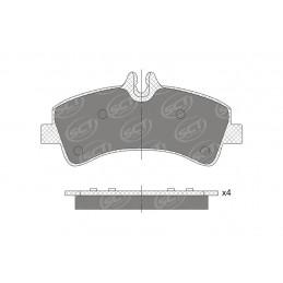 SP 745 PR Bremseklodser bag