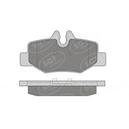 SP 642 Bremseklodser bag
