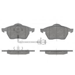 SP 631 Bremseklodser for