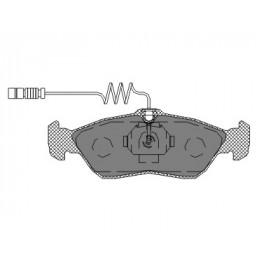 SP 232 Bremseklodser bag