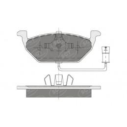 SP 136 Bremseklodser for